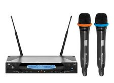 SoundTek VM-62U Dual Channel UHF Wireless Microphone System