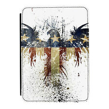 American Eagle Splatter Bandiera USA IPAD Mini 1 2 3 Custodia Cover a Flip in
