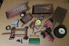 Vintage ERTL JOHN DEERE International TRACTOR Implements Parts Lot 1:16 & others