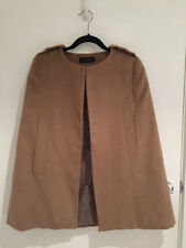 Unbranded Solid Regular Size Cape Coats & Jackets for Women