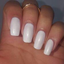PEARL WHITE Shiny Nail Polish 15ml indie 5-free handmade vegan cruelty-free