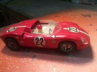 Vintage Famous 1/24 Monogram Ferrari 275 Slot Car