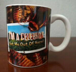 I'm A Celebrity Get Me Out Of Here Paladone Mug Collector Cup Bug In Bottom 2010