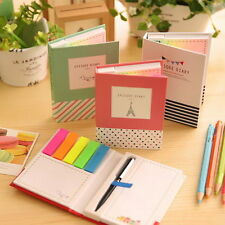 Sticker Post-It Bookmark Marker Memo Flags Sticky Notes Book One Pen Extra Gifts