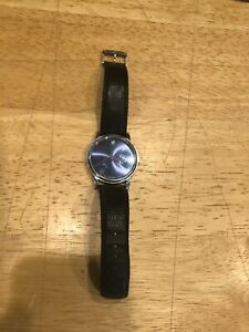 MOVADO Luxury Mens Watch, Black Face, MO.01.1.14.6000, Museum model