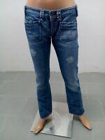 Jeans Diesel Donna Pantalone Woman Pantalon Femme Taglia Size 30 Cotone 8697