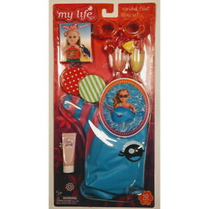 My Life As All American Girl Doll Narwhal Float Play Set, Swimming Pool Toy NEW