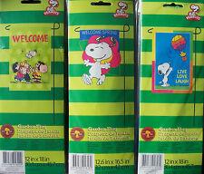 New listing Snoopy & Woodstock Spring/Summer Mini Garden Flag 12 x 18 Nip-Choose 1