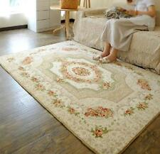 Country Rose Floral Floor Mat Rug Carpet Victorian Style 190X130cm