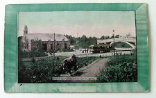 1909 POSTCARD ENTRANCE TO COMO PARK ST PAUL MINNESOTA