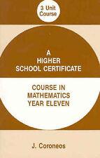 Year 11  Mathematics Textbook / Year 11 3 Unit Mathematics Course