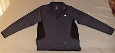 Champion Long Sleeve Gray W/ Black Zipper Top Athletic Jacket M K#4000