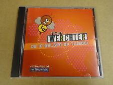 CD HET NIEUWSBLAD / ROCK WERCHTER - DE 10 BELGEN OP TW2001