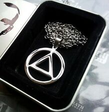 Eminem The Best RAPPER Grammy Award Equilateral Triangle Steel Pendant Necklace