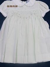 Carriage Boutiques dress size 18mo. light mint,new w/tags,smocking,tea length