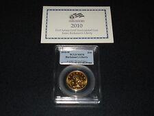 2010-W $10 Buchanan's Liberty PCGS MS70 first spouse gold