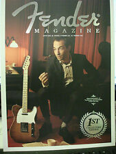 Fender guitar collectors 1st edition 2012 mag. great retro photos,articles,adds