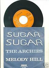 ARCHIES-SUGAR, SUGAR-GERMAN PS 45rpm 1969-BUBBLEGUM