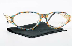 CAZAL Glasses Mod - Col 763 54 16 130 Eye Frame Germany Oval Gold Colourful 90s