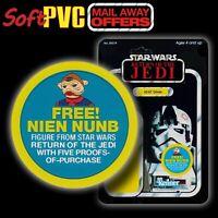 "Kenner STAR WARS Vintage ""Mail-Away Offer"" FREE Nien Nunb soft PVC patch/coaster"