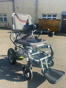 PRIDE I-GO PLUS ELECTRIC WHEELCHAIR TRANSPORTABLE FOLDABLE CAR BOOT LIGHTWEIGHT