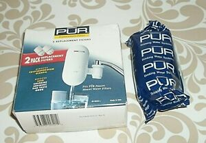 One PUR 3-Pack Replacement Water Filters RF-2052L - New Sealed Wrappers      A-2