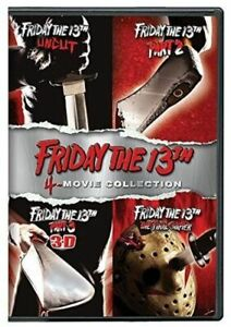 FRIDAY THE 13TH DELUXE EDITION FOUR PACK NEW DVD