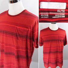 Marmot Short Sleeve Red Base Layer T Shirt Black Mens Sz XL Gym Workout Outdoor
