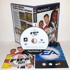 FIFA FOOTBALL 2003 03 3 - Playstation 2 Ps2 Play Station Gioco Game
