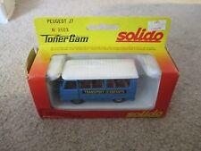 Solido Toner Gam Peugeot J7 #2003 MIB See My Store