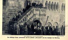 60. annuali Cartello Giubileo: Göttinger corpo & jenenser sulla Wartburg 1908