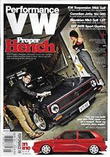 Performance VW Auto Magazine Proper Hench KW Suspension Mk6 Golf Canadian Jetta