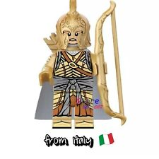 MINIFIGURES ELF CUSTOM - LORD OF THE RINGS - HOBBIT  COMPATIBILE LEGO