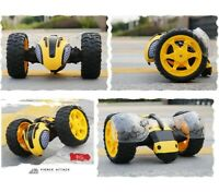 7seas® 2 WHEEL REMOTE CONTROL RC LIGHTNING BEE STUNT CAR RECENTLY LAUNCHED TOY