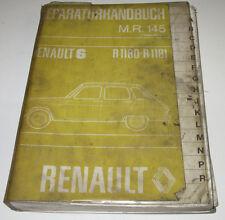 Werkstatthandbuch Renault R6 / R 6 Motor Getriebe Räder Bremsen Stand 01/1973!