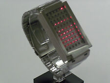 TOKYOFLASH SEAHOPE ELEENO DUAL TOUCH RED/BLUE LED WATCH, COOL, FUTURISTIC