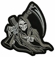 REAPER Skull  BIKER MC PATCH
