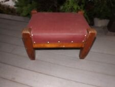 STICKLEY STYLE   ARTS AND CRAFTS / MISSION OAK FOOT STOOL / OTTOMAN