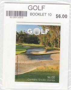 Australia 2011 Golf Stamp Booklet