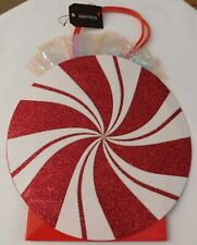 Christmas Peppermint Gift Bag By Papyrus