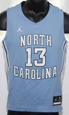 Nike Jordan North Carolina Tar Heels #13 Basketball Jersey Youth Medium Blue Top