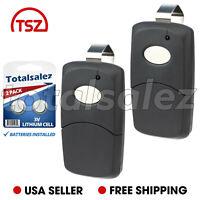 2 For MultiCode 3089 Garage Door Opener Gate Car Remote Transmitter 1090 Black