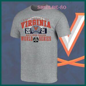 Virginia Cavaliers 2021 NCAA Men's College World Series One - Spot T-Shirt