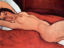 AMEDEO MODIGLIANI NUDE OLD MASTER ART PAINTING PRINT POSTER 157OMA