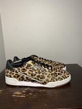 Size 9.5 - Adidas Originals Continental 80 Pony Hair Leopard Gum F33994 Mens