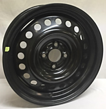 16 Inch 4 on 100 Black Steel Wheel Fits Kicks WE19726T OEM Takeoff