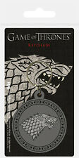 GAME OF THRONES STARK RUBBER KEYRING NEW OFFICIAL MERCHANDISE