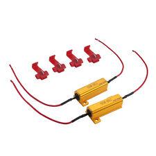2 LED Resistance 50W 6 Ohm ODB Arrêtez Clignotant feux diurnes Lumière de brume