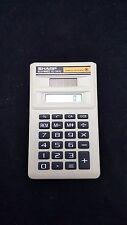 Sharp ELSI Mate EL-243C Solar Cell Powered Calculator Vintage Pocket