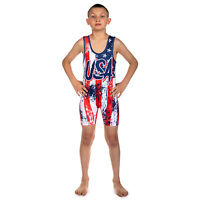 Wrestling Singlet by KO Sports Gear: USA Wrestling
